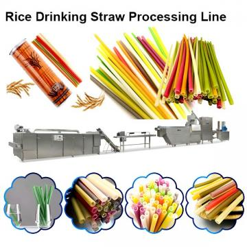 PP PE PLA Biodegradable colorful juice drinking Straw Extrusion Making Machine