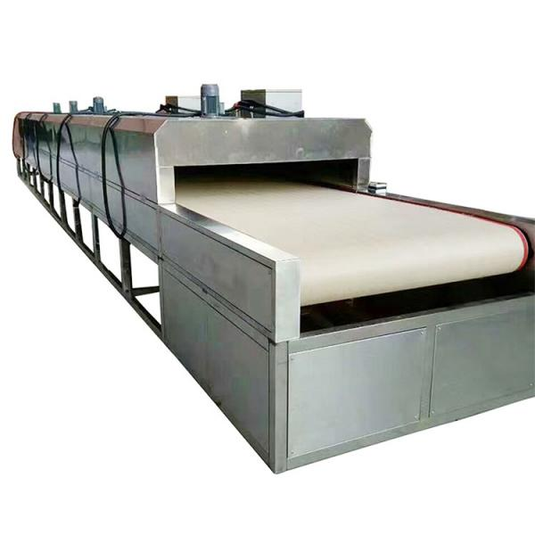 Industrial Single-Layer Mesh Belt Dryer for Chemicals #3 image