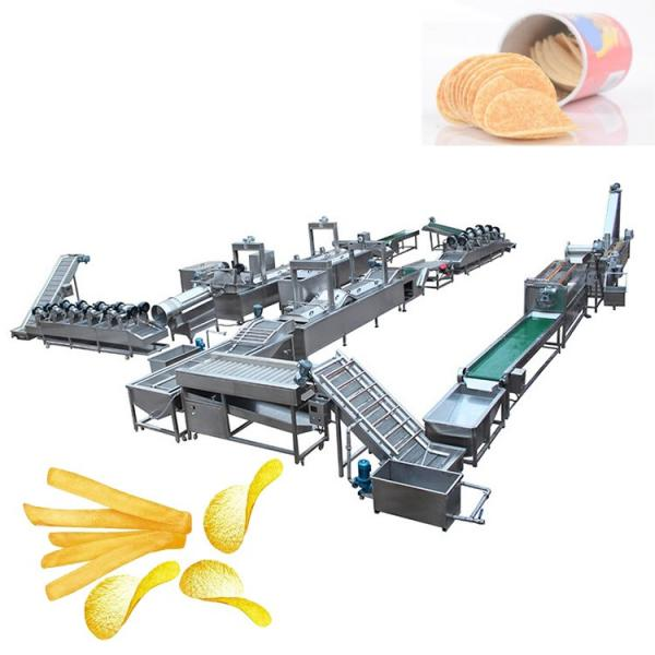 Manufacturing Frying Production Line Fresh Frozen French Fries Sticks Fully Automatic Lays Potato Chips Making Machine #2 image