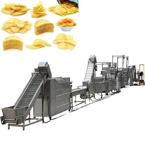 Manufacturing Frying Production Line Fresh Frozen French Fries Sticks Fully Automatic Lays Potato Chips Making Machine #3 image