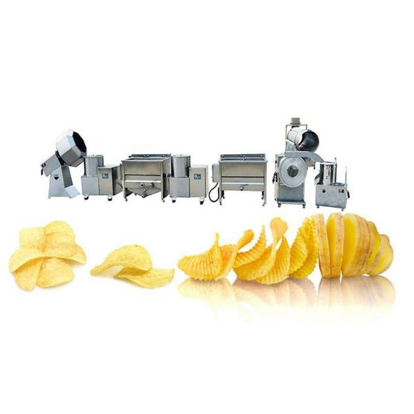 Full Automatic French Fries Potato Chips Making Production Machine Line #2 image