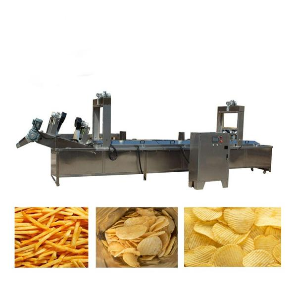 Automatic Industrial Potato Chips Making Machine French Fries Production Line #2 image