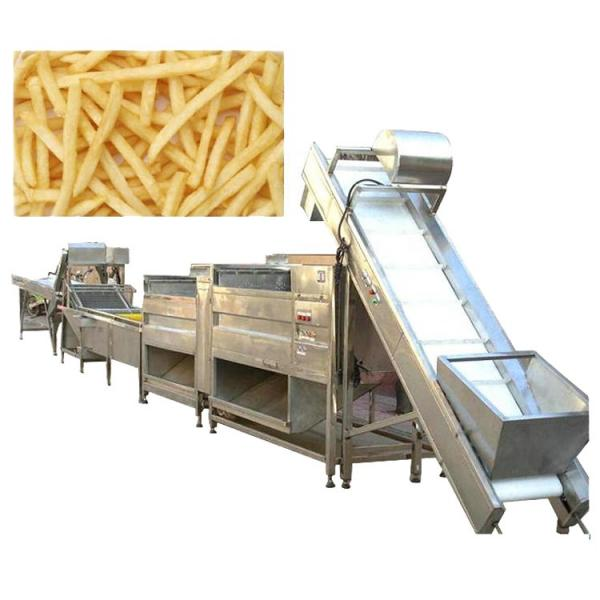 Automatic Industrial Potato Chips Making Machine French Fries Production Line #3 image