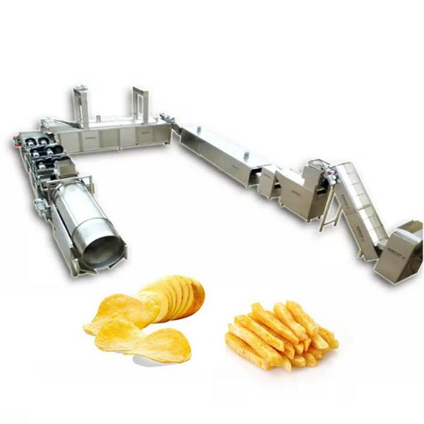 Factory Supplier Potato Chips Foods Automatic Frying Machine #2 image