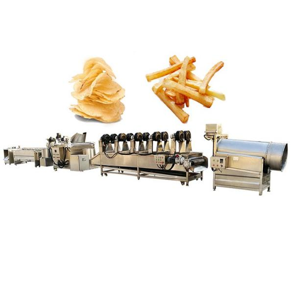 Factory Supplier Potato Chips Foods Automatic Frying Machine #1 image