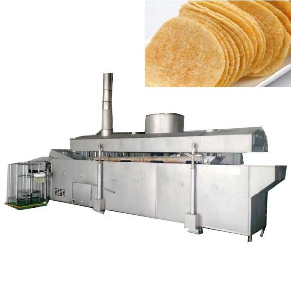 Fully Automatic Continuous Potato Chips/Crisp Frying Machine #3 image