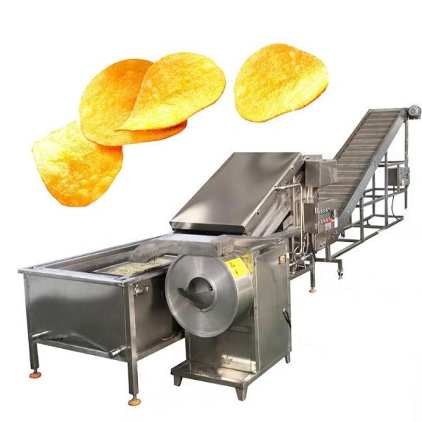 New Condition Complete Automatic French Fries Processing Potato Chips Machine #3 image