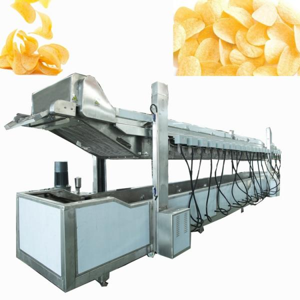 Factory Supplier Potato Chips Foods Automatic Frying Machine #3 image